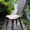 木製の椅子インテリア用に k09