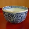 古伊万里蛸唐草碗型蕎麦猪口 t-89
