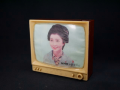 昭和レトロ テレビ形貯金箱 「おはなはん」 s-146