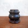 古銅の小さな香呂 鋳物 台付 s-319