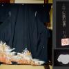 中古 黒留袖 「上村松園の世界」 花車御所車文 n-56