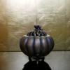 銅器 南瓜形香呂 黄銅 s-433