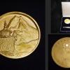 1956年 マナスル登頂記念 メダル 毎日新聞社 s-440