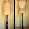 子供用 古い木製トルソー 子供服に H112cm s-444