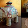 象の香呂 象塔 現代作家 在銘 t-813