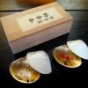 蛤香合 梅と桜2個組 環翠庵 箱入 k-120