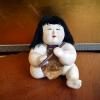 御所人形 笛吹童子 ふくよかな三頭身の可愛い子 s-488