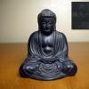 鎌倉の大仏 鋳造置物 戦前のお土産 昭和レトロ H7cm s-493
