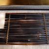 竹筏形敷板 花台 飾台 竹製 煎茶道具 k-143