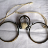鼻立て眼鏡 支柱式天狗眼鏡 江戸から明治初期 s-507