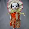 サクラビスク ビスクドール 眠り人形 スリープアイ 色白ピンク頬 s-518