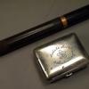 サクラビールのノベルティ 万年筆と髭そりセット 帝国麦酒 大日本麦酒 s-533