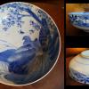 伊万里大鉢 満開の桜と雉の図 一尺鉢 無傷完品/  国花国鳥 t-1028