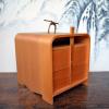 白木 提げ重箱 菓子器 弁当箱 茶道具 箸付 杉材 k-166