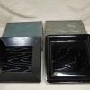 菓子器  四方盆 木地掻合塗 角形と隅切り角形の2点 茶道具 k-175