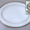 ミントン MINTON 特大楕円皿 MADE  IN ENGLAND  t-1189