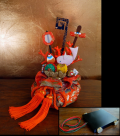 迎春 飾り物「宝づくし」 作家物 フランクリンミント社 s-584