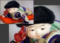 這子人形 這い這い人形 男の子 市松人形 無傷美品