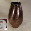 カメイガラス 花瓶  H28cm   ブロンズのような輝き g-154