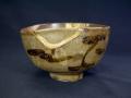 古唐津 木原茶碗の1 発掘 金補修呼び付き有り t-1367