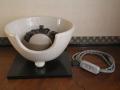 茶道具 野々田式 風炉型電熱器 電気風炉 白さつま s-625