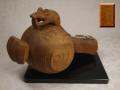木彫 宝槌と鼠 越中井波彫刻 堀井久彰 作 在銘 s-630
