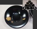 輪島塗 梅文茶托10客揃 可愛い蕾も 艶やかな美品 k-290