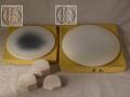 茶道具 底瓦 法伝 特大26.3cm・大22cm・五徳台のセット 状態良好紙箱入り s-m213