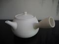 煎茶道具 白泥 ぼうふら 湯沸かし 横手 未使用保管品   t-1629