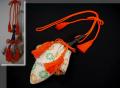訶梨勒(かりろく)  正月飾り 茶室飾り 縁起物 袋物 n-76