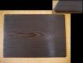 茶道具 華道具 焼杉の蛤端板 花入れ用敷板 薄板 美品 k-353