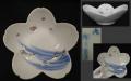 源六焼 平鉢 向付 桜と若鮎 源六製 冨永源六 佐賀 嬉野 t-1832