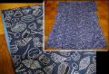 リサイクル着物 小紋 茶道具柄 総柄 リメイク材にも n-84