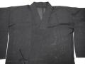 正絹 絽 道中着 未使用しつけ糸付 夏のお出かけをお洒落に n-88